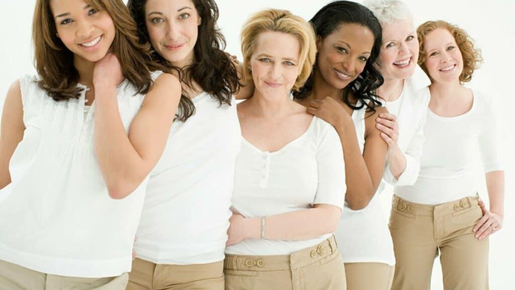 Kvinnor olika aldrar